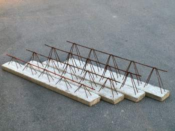 2220 - Vigueta Semirresistente Armada Canto 22 cm.